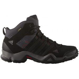 adidas AX2 MID GTX černá 11.5 - Pánská treková obuv