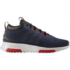adidas CF RACER MID WTR tmavě modrá 6.5 - Pánská lifestyle obuv