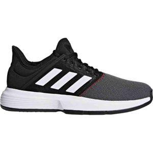 adidas GAMECOURT M černá 10.5 - Pánská tenisová obuv