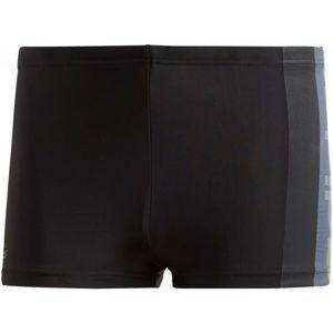 adidas FITNESS BOXER ADIDAS GRAPHIC černá 9 - Pánské sportovní plavky