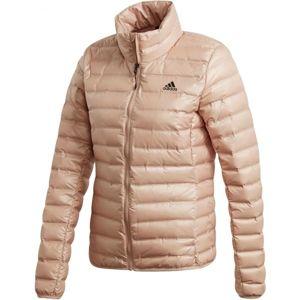adidas VARILITE JACKET světle růžová XS - Dámská bunda