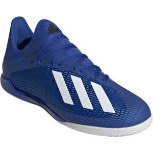 adidas X 19.3 IN modrá 9.5 - Pánské sálovky