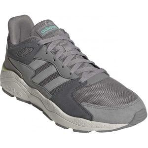 adidas CRAZYCHAOS šedá 10 - Pánská volnočasová obuv