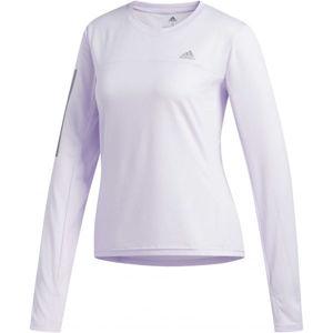 adidas OTR LS TEE fialová S - Dámské triko