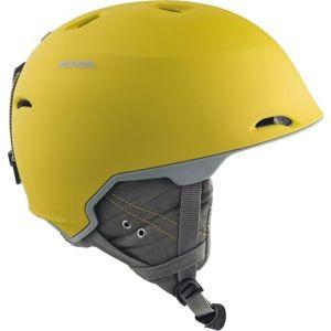 Alpina Sports MAROI žlutá (53 - 57) - Unisex lyžařská helma