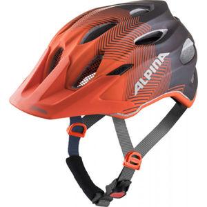Alpina Sports CARAPAX JR modrá (51 - 56) - Dětská cyklistická helma