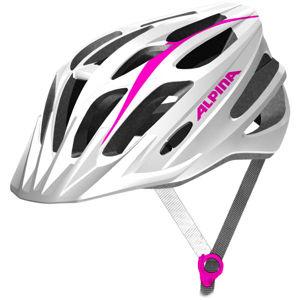 Alpina Sports TOUR 2.0 bílá (53 - 58) - Cyklistická helma