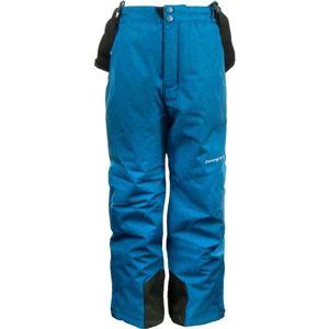 ALPINE PRO GUSTO modrá 152-158 - Dětské lyžařské kalhoty