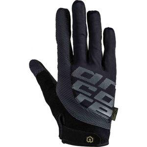 Arcore FORMER černá L - Dlouhoprsté cyklistické rukavice