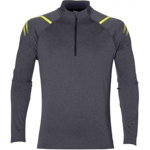 Asics ICON LS 1/2 ZIP M  XXL - Pánské sportovní triko