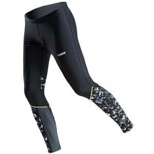 Axis RUN KALHOTY M PRINT černá 46 - Pánské běžecké kalhoty