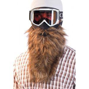 Beardski PROSPECTOR hnědá NS - Lyžařská maska