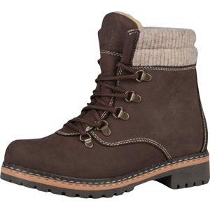 Best Walk VADER hnědá 36 - Dámská zimní obuv