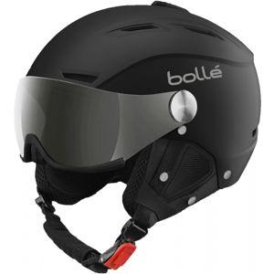 Bolle BACKLINE VISOR +1 černá (56 - 58) - Lyžařská helma