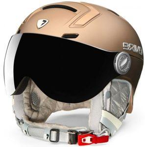 Briko AMBRA VISOR PHOTO žlutá (56 - 58) - Dámská lyžařská helma
