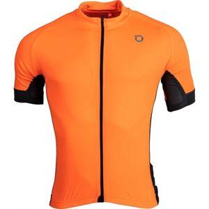 Briko CLASS.SIDE oranžová 2xl - Pánský cyklistický dres