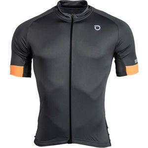 Briko CLASS.SIDE šedá XL - Pánský cyklistický dres