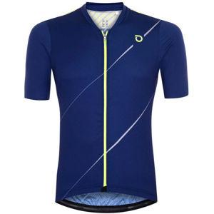 Briko FRESH GRANPH 4S0 modrá L - Pánský cyklistický dres