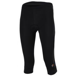 Briko SCINTILLA LADY černá M - 3/4 cyklistické kalhoty