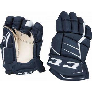 CCM JETSPEED 350 JR tmavě modrá 10 - Dětské hokejové rukavice