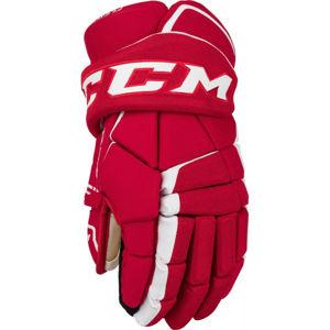 CCM TACKS 9060 SR červená 15 - Hokejové rukavice