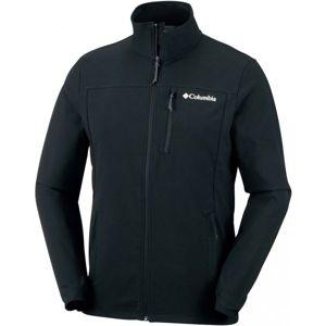 Columbia HEATHER CANYON HOODLESS JACKET černá S - Pánská outdoorová bunda