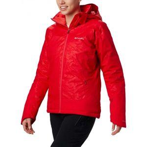 Columbia VELOCA VIXEN JACKET červená XL - Dámská zimní bunda