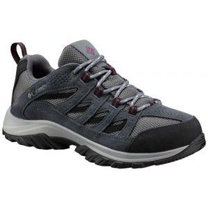 Columbia CRESTWOOD LOW WTP šedá 8 - Dámská multisportovní obuv