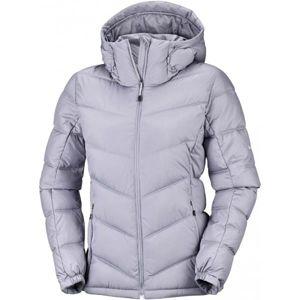Columbia PIKE LAKE HOODED JACKET W šedá S - Dámská zimní bunda
