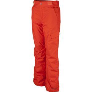 Columbia ICE SLOPE II PANT oranžová M - Chlapecké lyžařské kalhoty