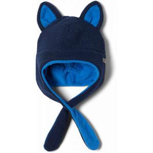 Columbia TINY ANIMAL BEANIE II modrá  - Dětská zimní čepice