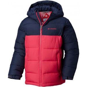 Columbia PIKE LAKE JACKET růžová XS - Dětská zimní bunda
