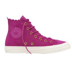 Converse CHUCK TAYLOR ALL STAR FRILLY THRILLS růžová 40 - Dámské kotníkové tenisky