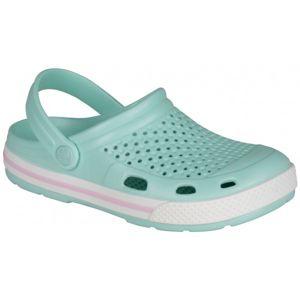 Coqui LINDO světle zelená 40 - Dámské sandály