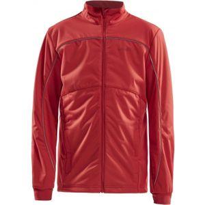 Craft WARM JNR červená 158 - Dětská zateplená bunda