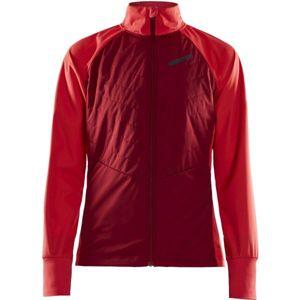 Craft STORM BALANCE červená M - Dámská zimní bunda na běžky