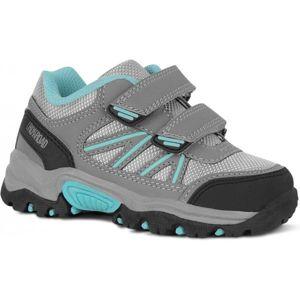Crossroad DADA šedá 29 - Dětská treková obuv