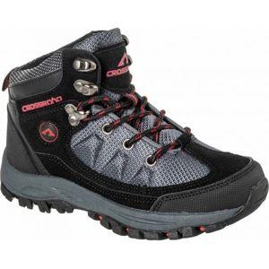 Crossroad DHUS černá 27 - Dětská treková obuv