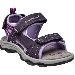 Crossroad MEGAN II fialová 34 - Dětské sandály