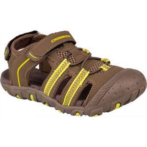 Crossroad MILL hnědá 28 - Dětské sandály