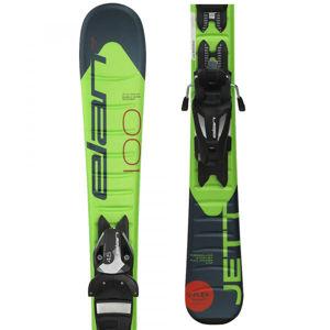 Elan JETT QS + EL 7.5  140 - Chlapecké sjezdové lyže