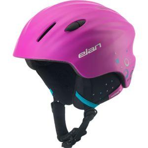 Elan TEAM PINK růžová (52 - 56) - Juniorská lyžařská helma