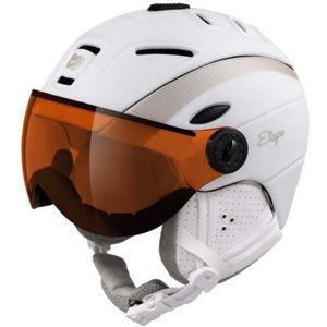 Etape GRACE PRO bílá (58 - 61) - Dámská lyžařská přilba s visorem