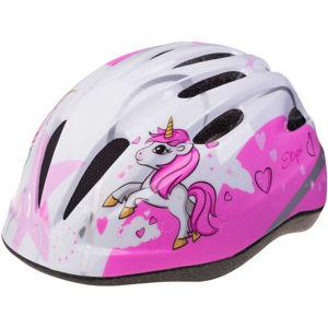 Etape REBEL JR růžová (52 - 56) - Dětská cyklistická přilba