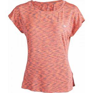 Fitforce RUE oranžová S - Dámské fitness triko