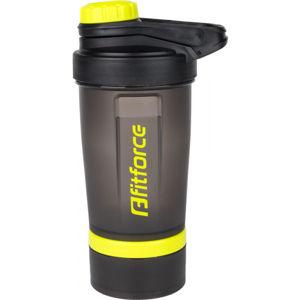 Fitforce SHAKER   - Plastová láhev s ocelovou kuličkou