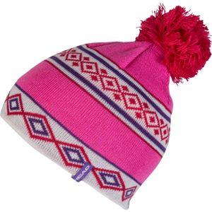 Head GLEN růžová UNI - Dětská zimní čepice