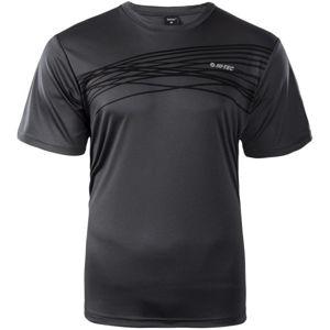 Hi-Tec MANNU černá S - Pánské funkční triko