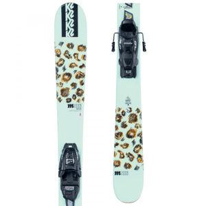 K2 MISSY FDT 4.5  119 - Dětské allmountain lyže s vázáním