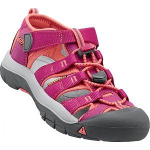 Keen NEWPORT H2 K růžová 4 - Dětské outdoorové sandále